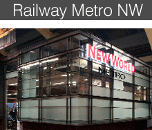 Railway Metro New World- Architecture HDT