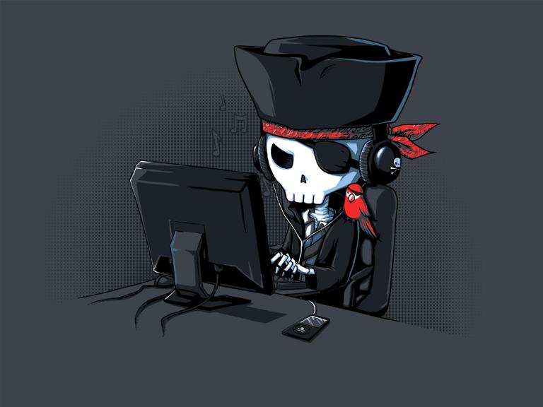 Anti-Piracy Propoganda — Randall Foster