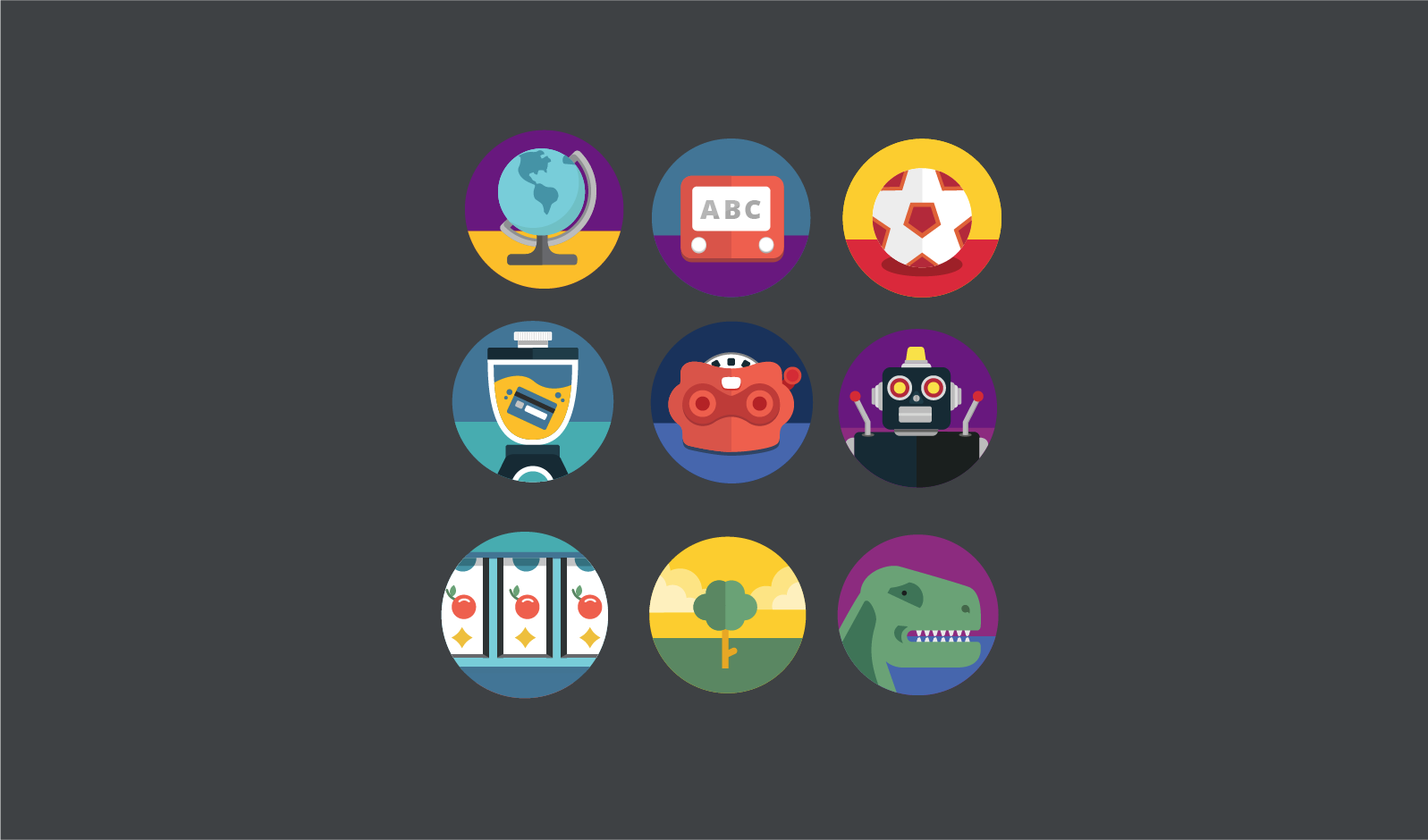Illustrations for Aereo Content Channels