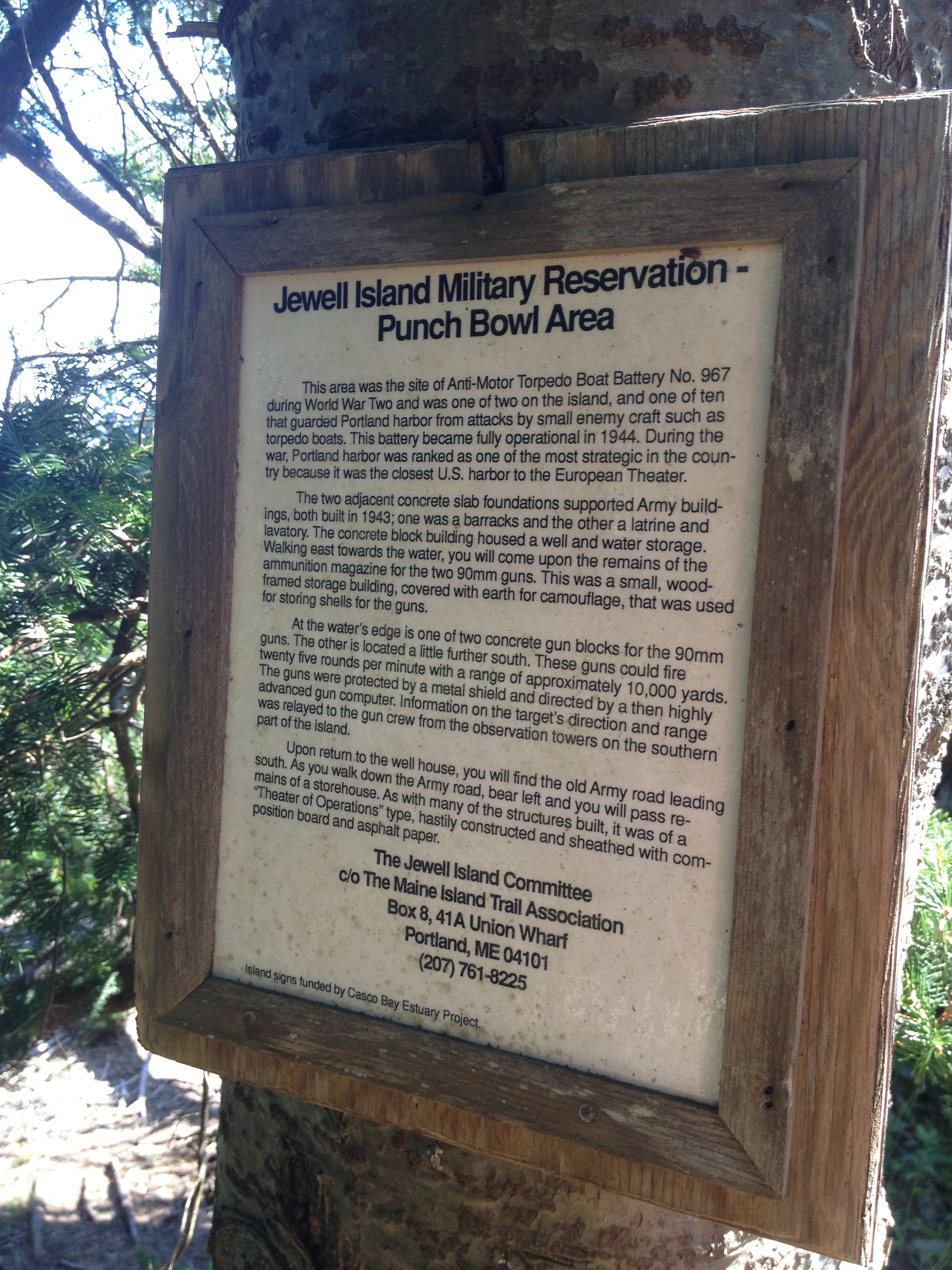 The Punchbowl history.