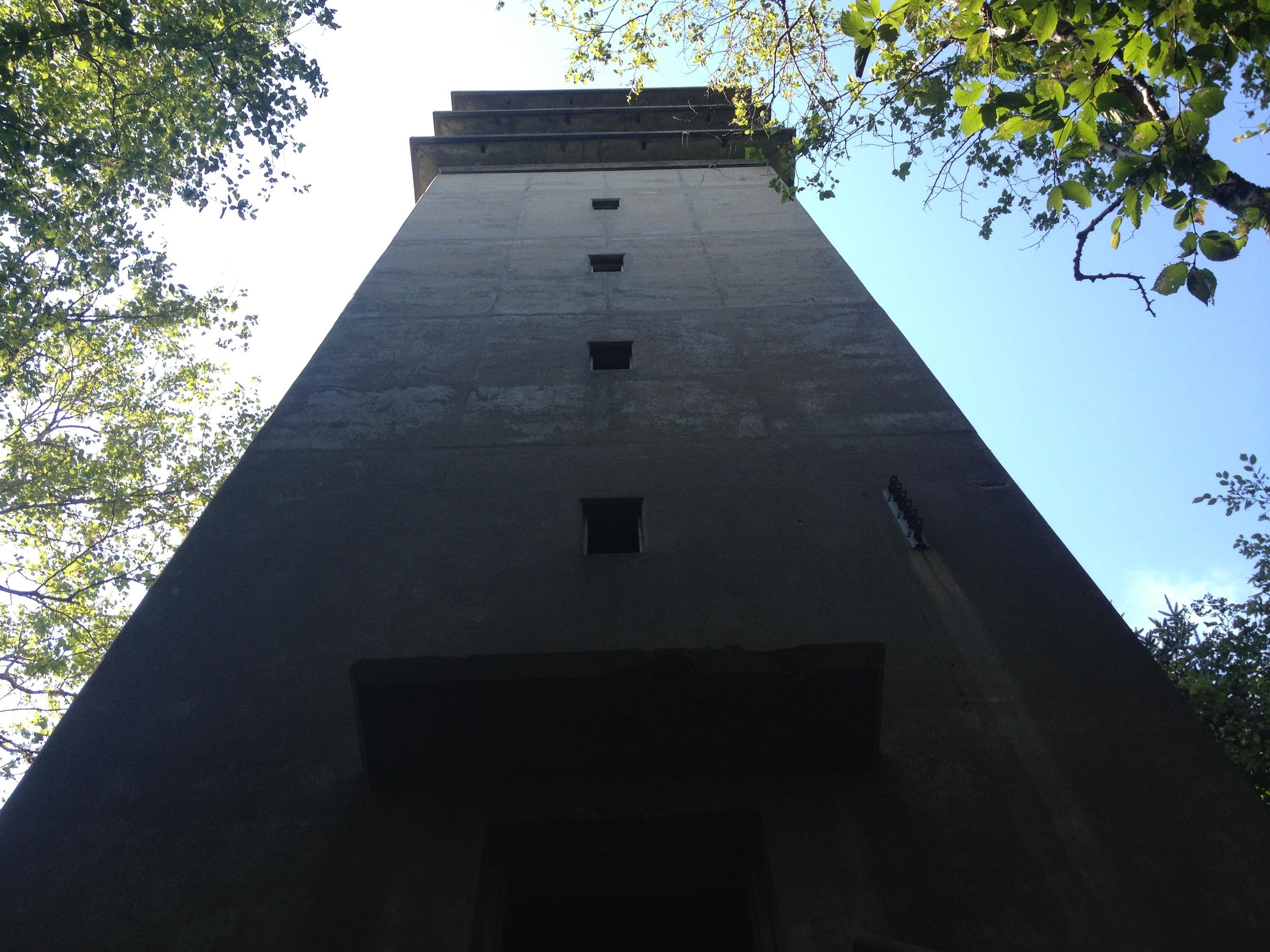 8 story tower, Jewell Island. Battery 202.