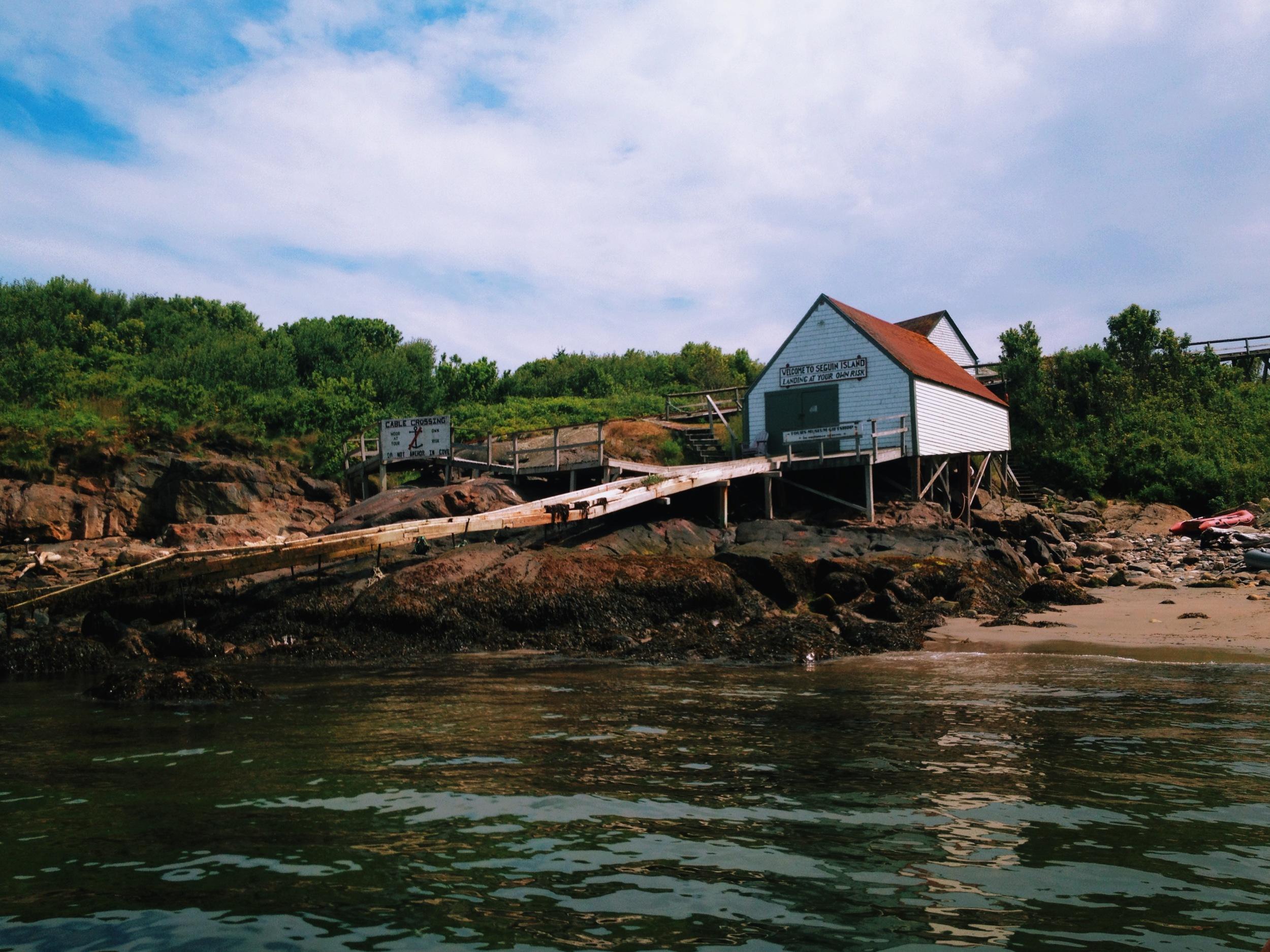 Seguin Island Tram