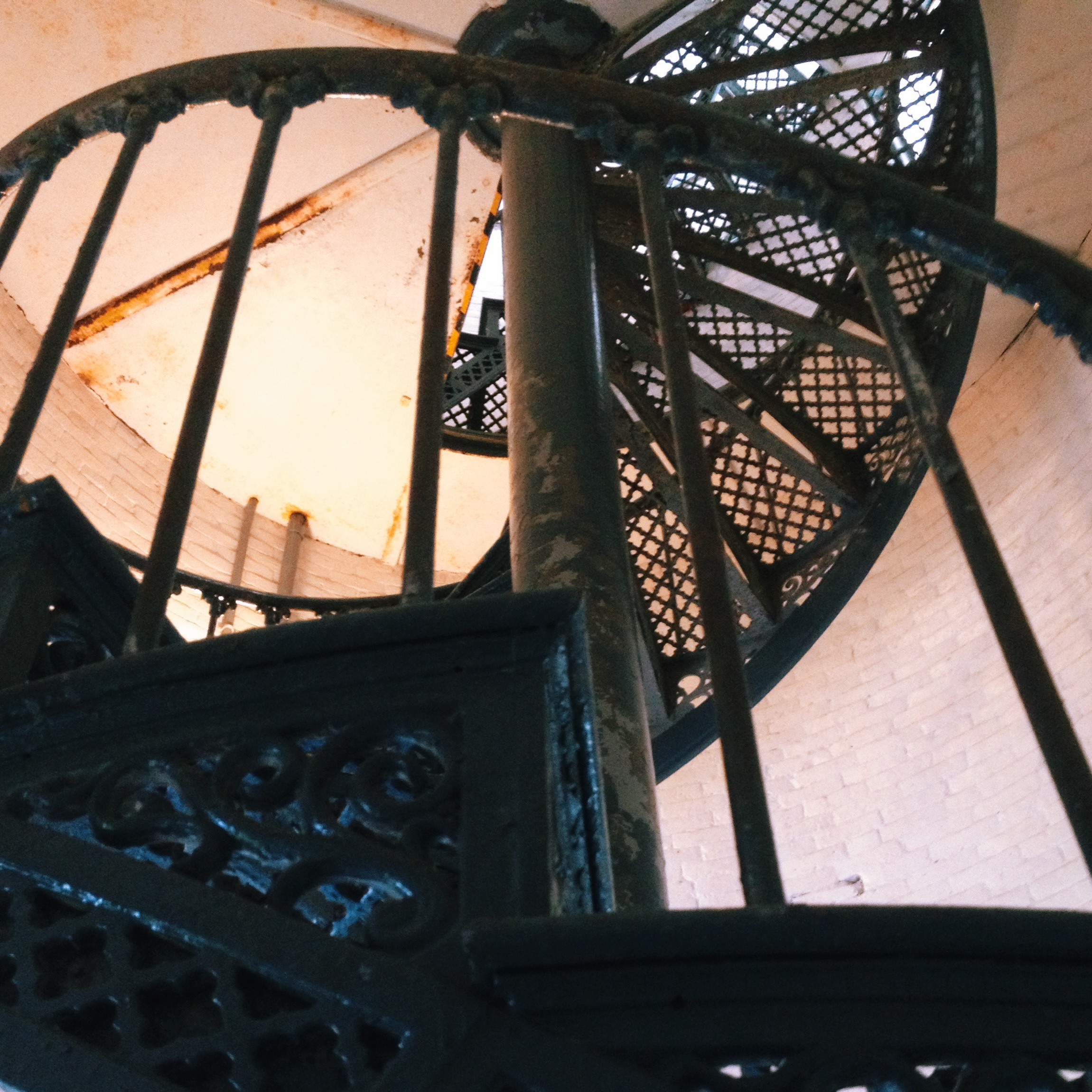 Seguin Island Lighthouse Stairs
