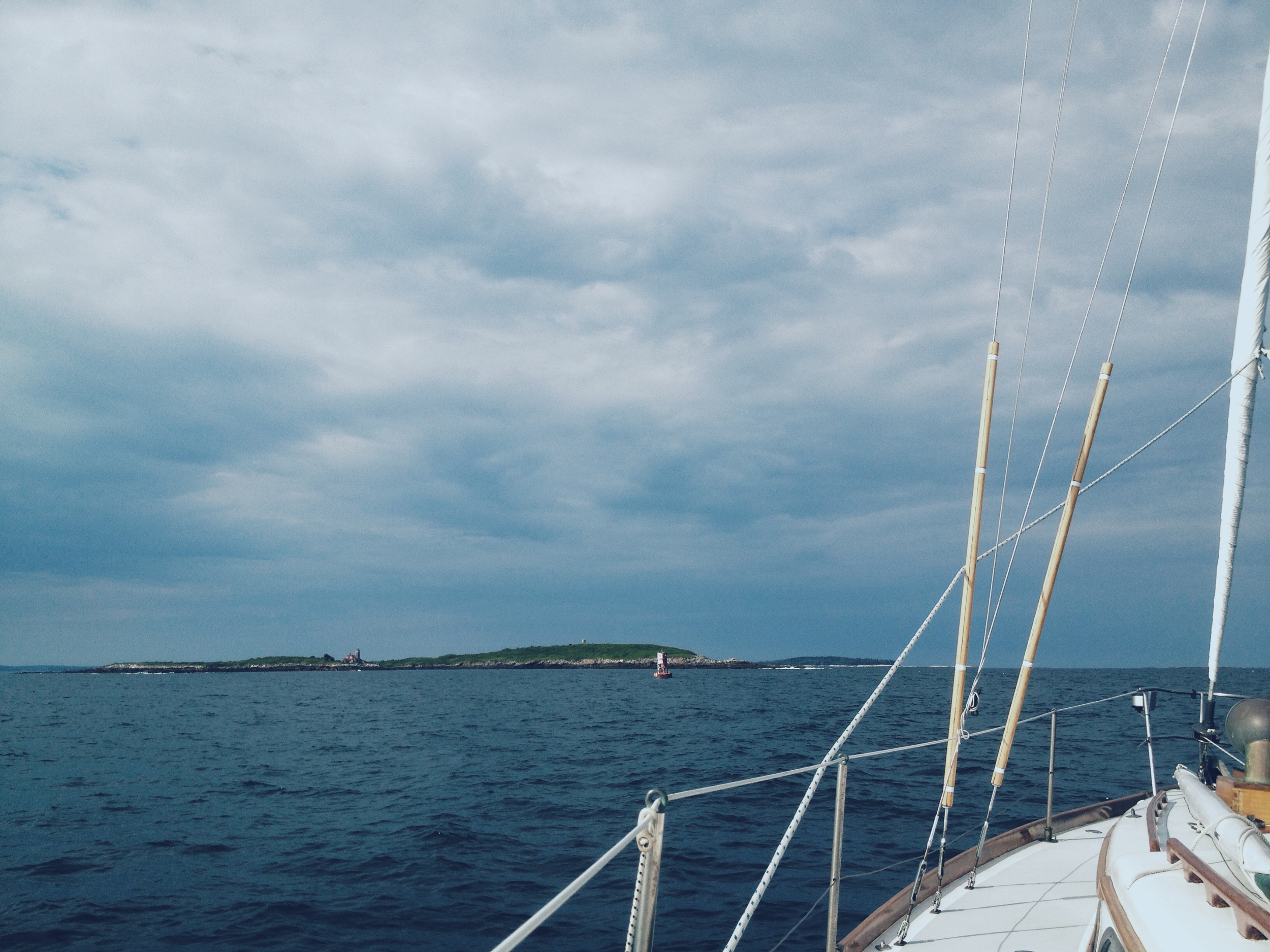 Off the beaten path in Maine The Motions Buoy Damariscove photo by Michelle Kinerson of Cape Porpoise Trading Co