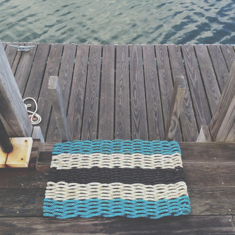 Recycled Lobster Rope Doormat