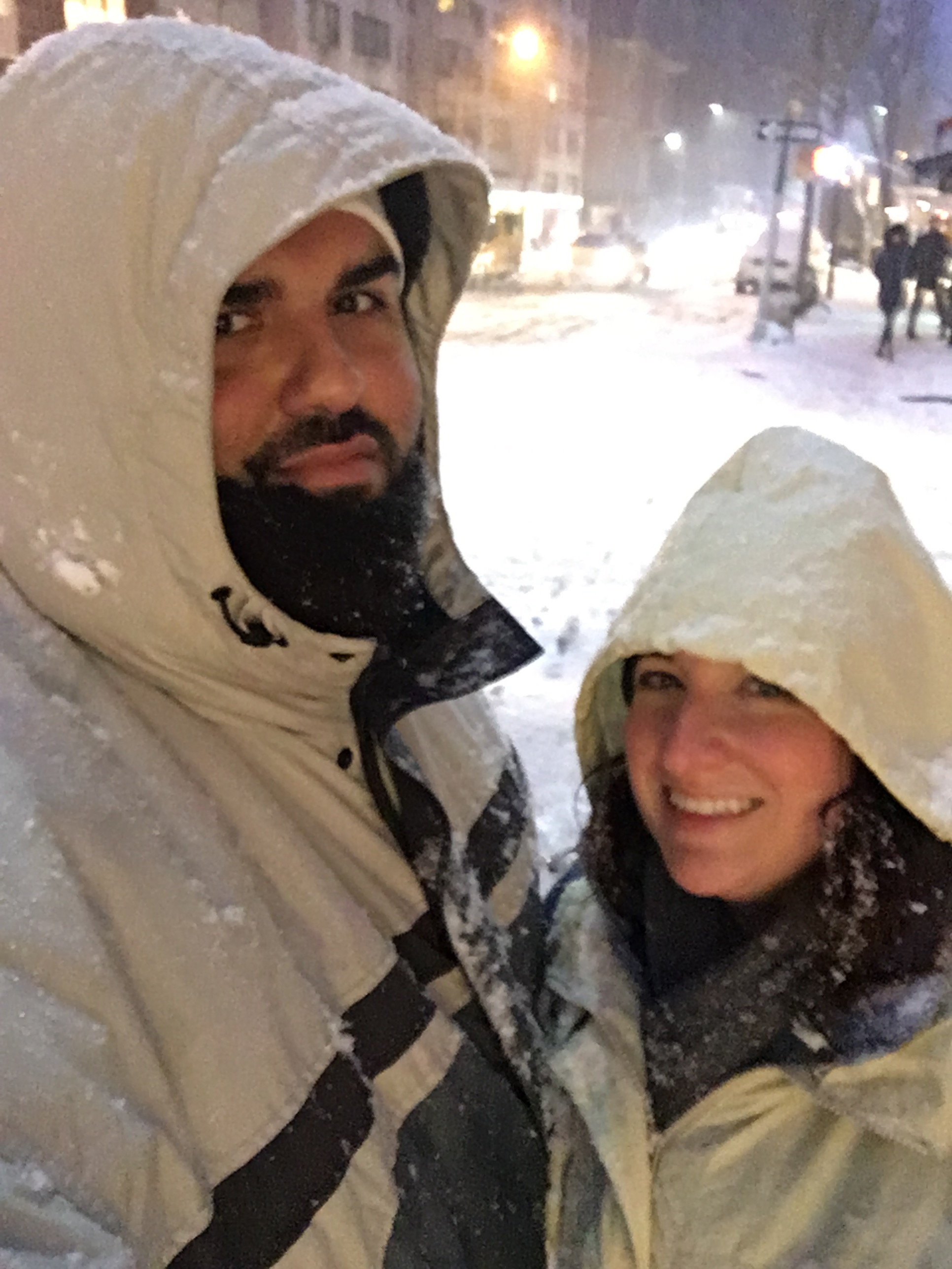 Full on Snow Selfie!