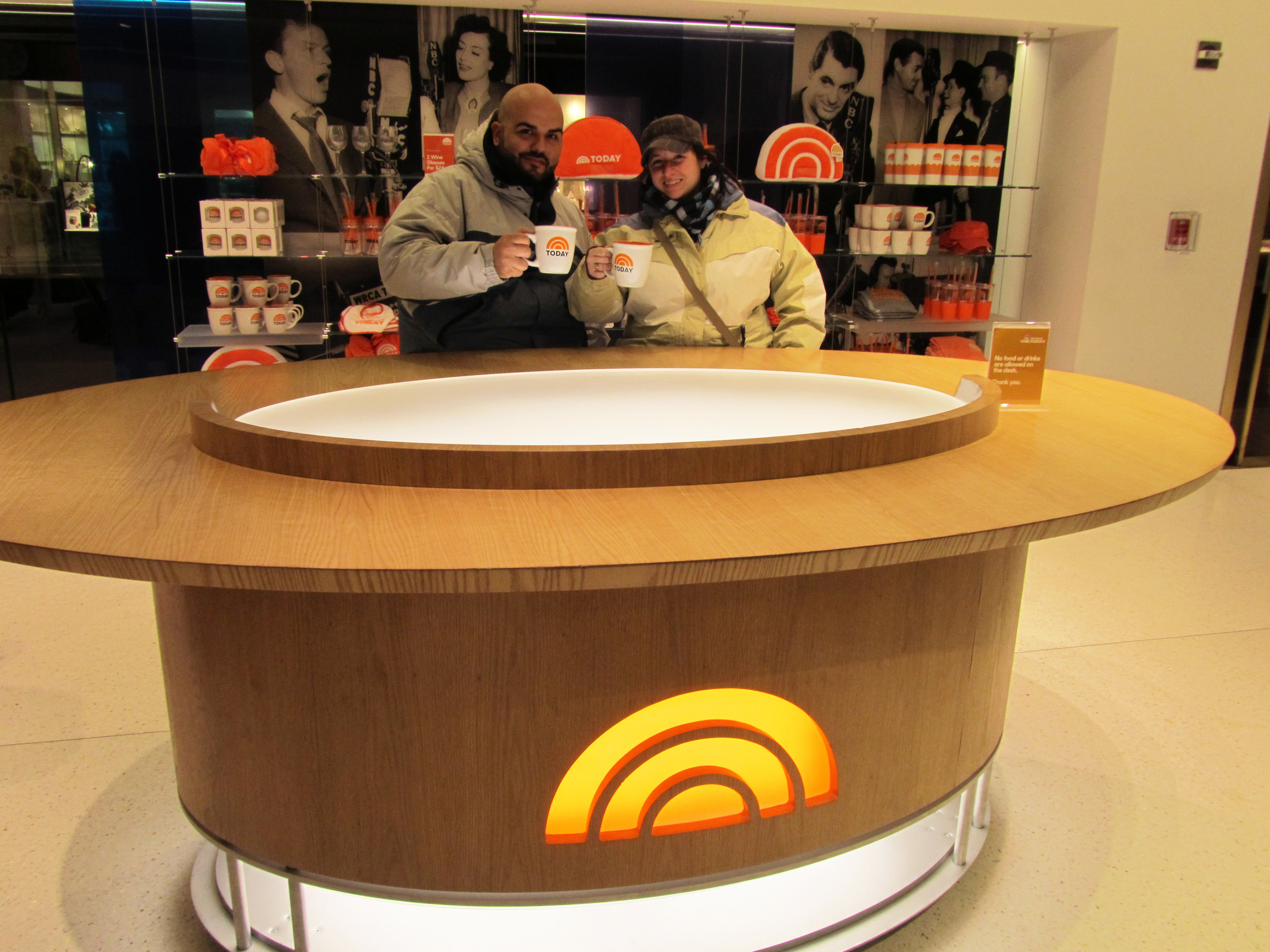 Let's not forget to mention checking out the NBC Building in Rockefeller Center and sitting at the Today Show Desk