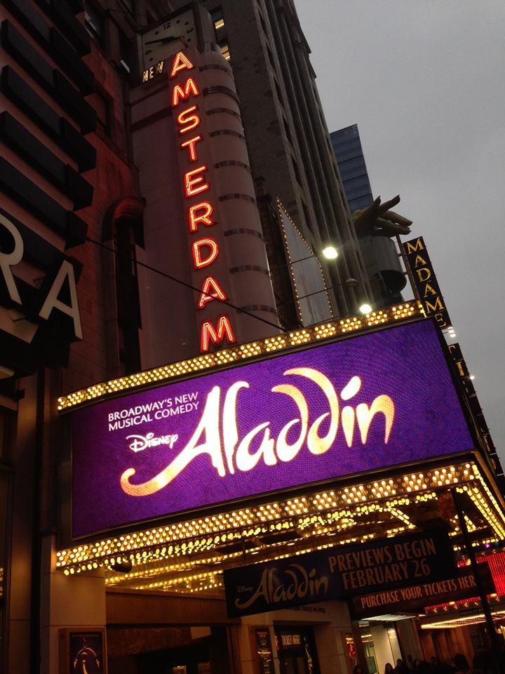 New Amsterdam Theater  Photo Credit: Disney Insider
