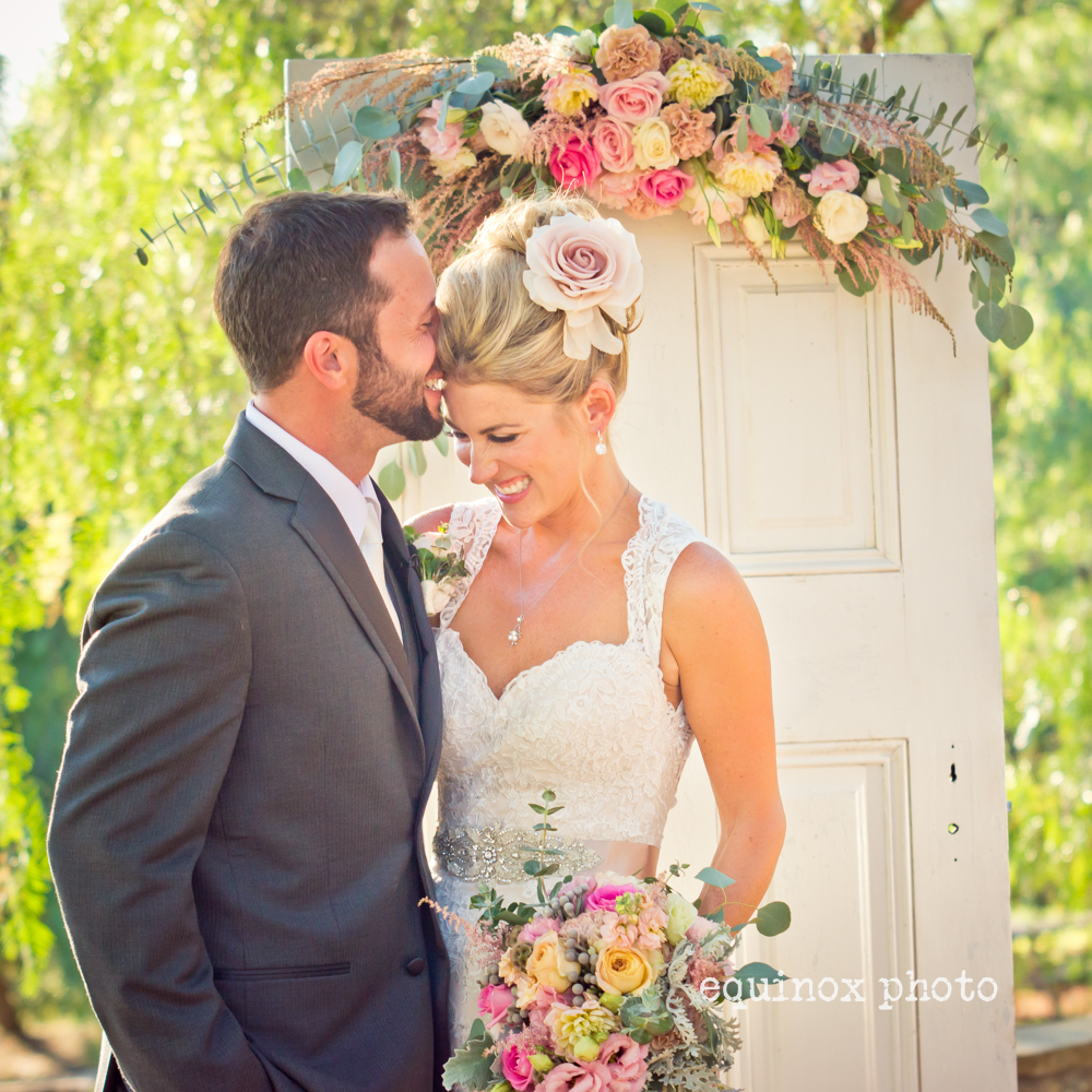San Diego Ranch Wedding Couple