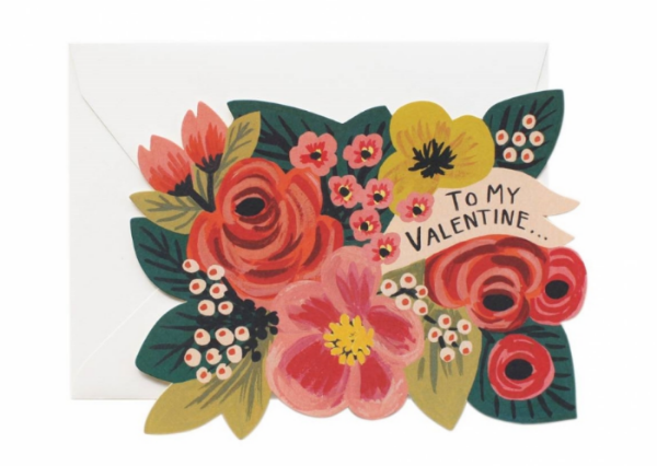 To My Valentine - Rifle Paper Co.  $4.50