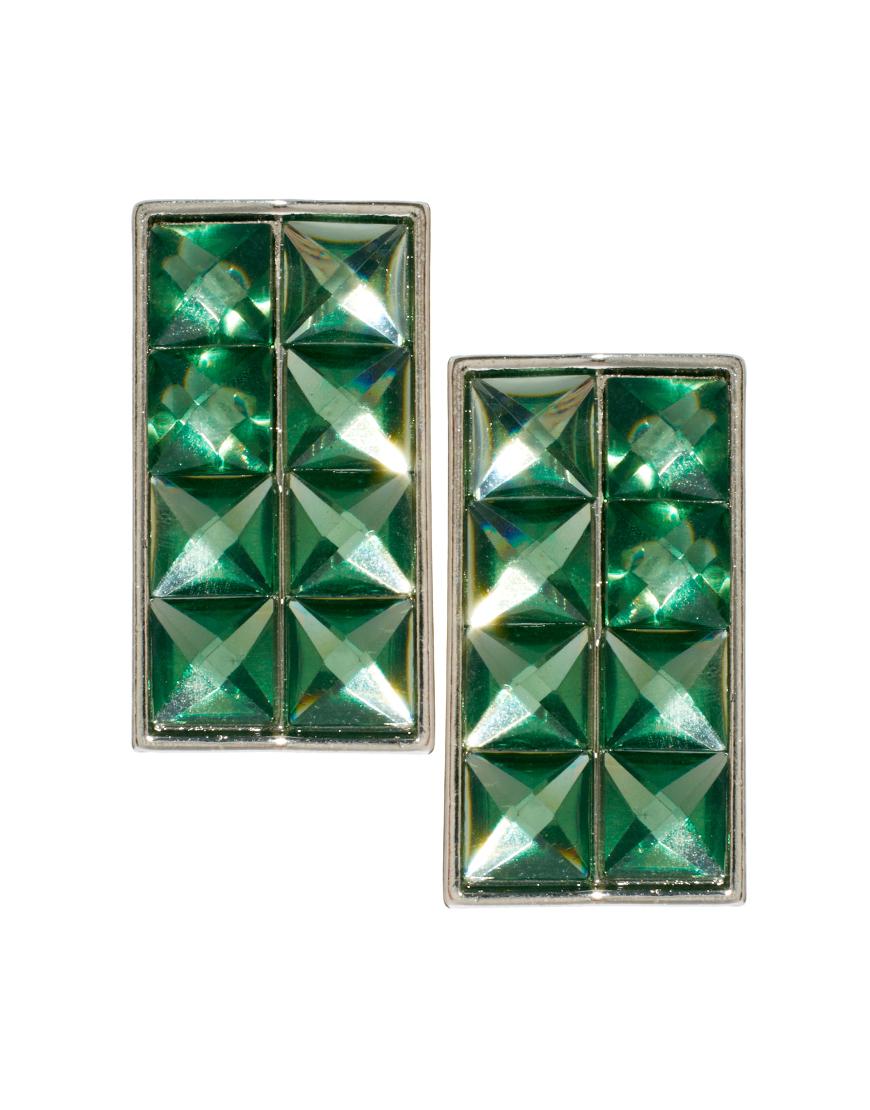 Pyramid Earrings ($13 ASOS)