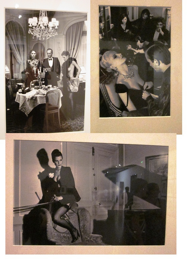 """Images from Newton's """"High Society"""" collection, showing at The Art Gallery of NSW"""