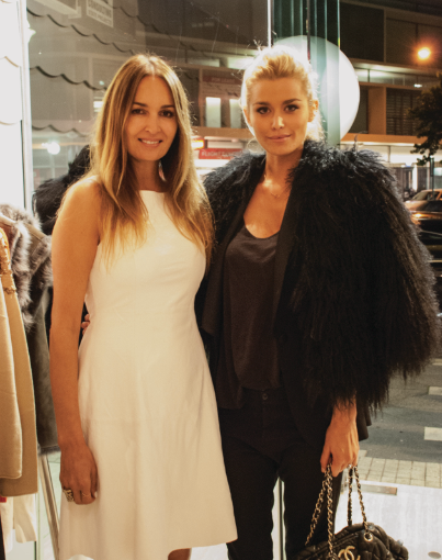 Gail Elliot with Cheyenne Tozzi