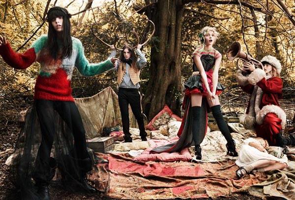 Vogue 2007, Mario Testino
