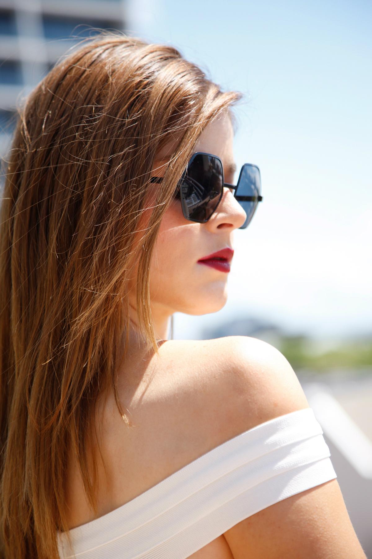 Sunglasses:   Le Specs @ Net-A-Porter