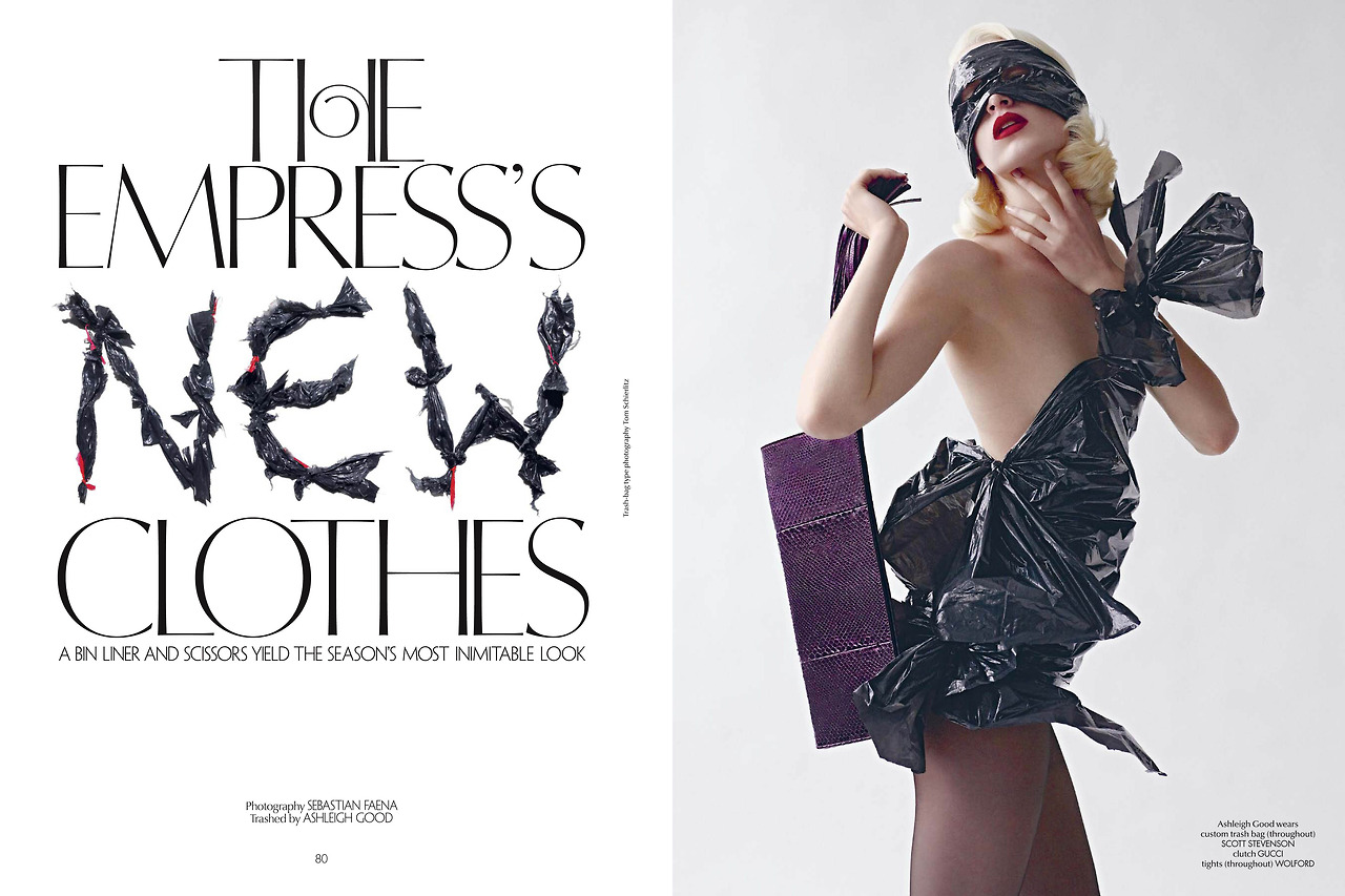 Editorial:  The Empress's New Clothes
