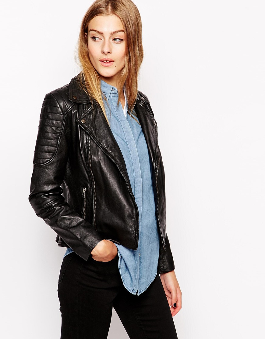 6. LEATHER JACKET