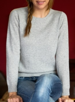 7. CASHMERE BLEND SWEATER