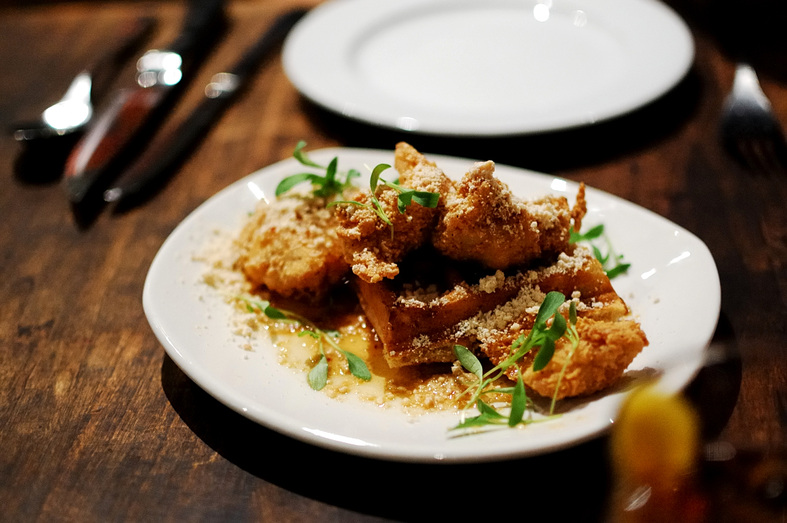 Vietnamese Style Chicken and Waffles