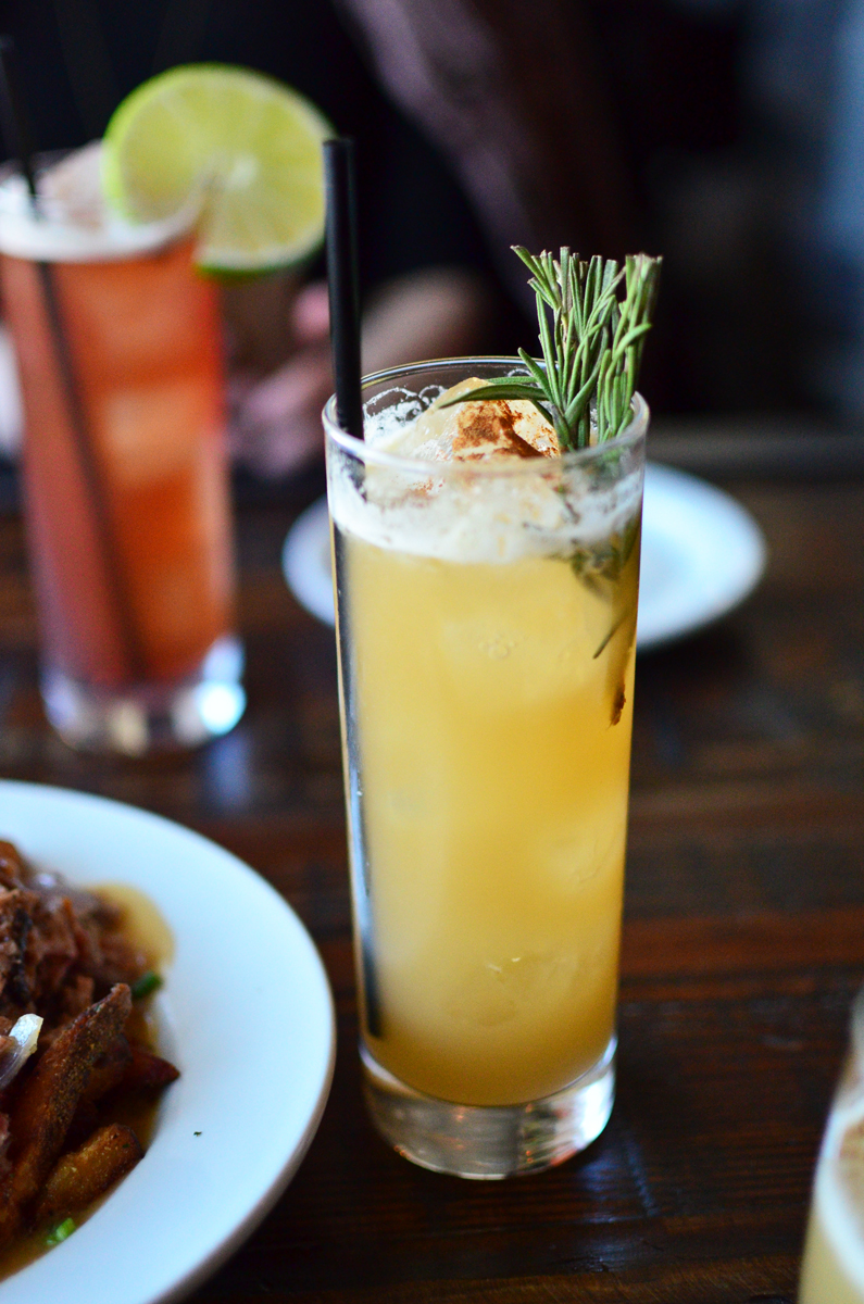 The Rosemary's Burden cocktail.