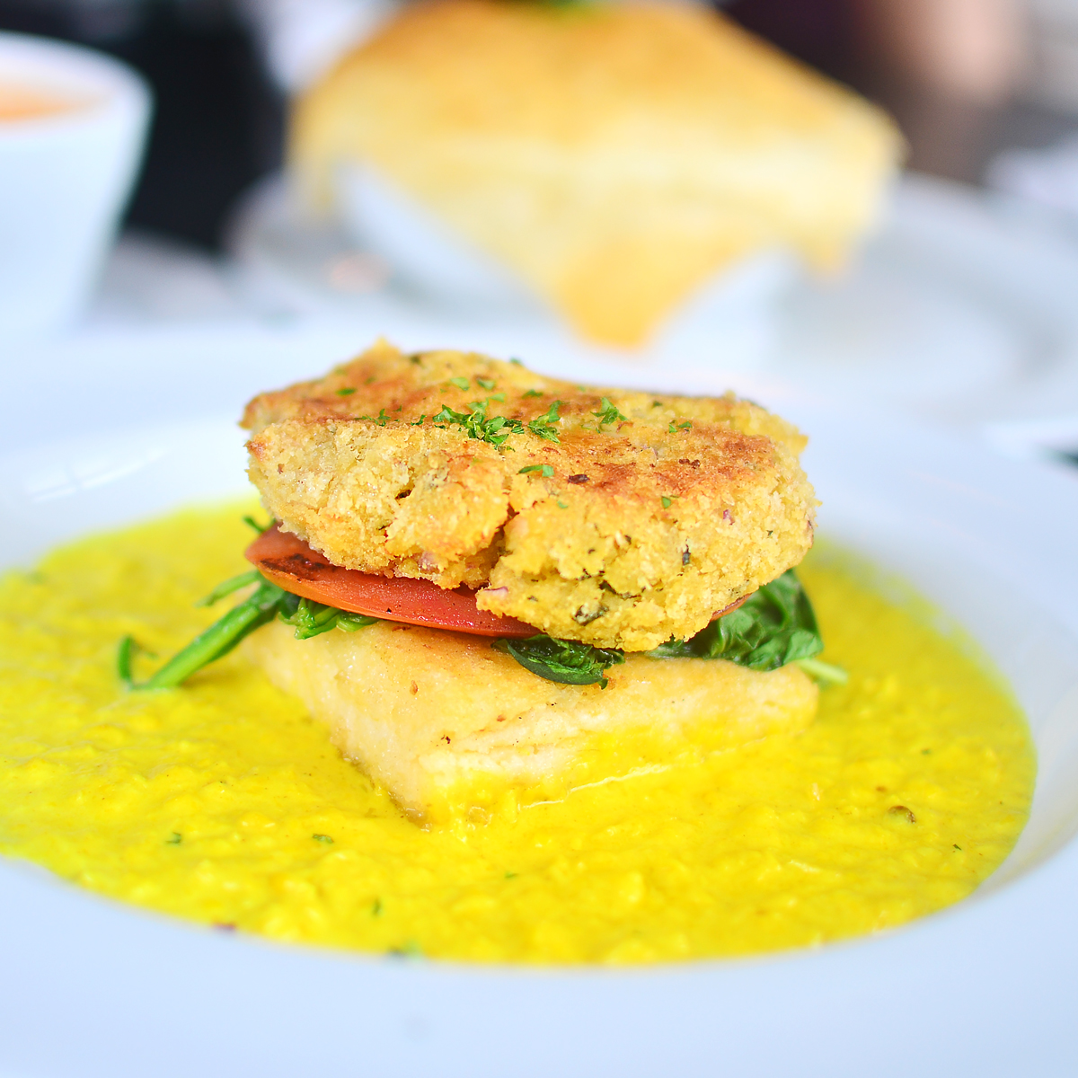 Soho South Cafe's Salmon Croquette