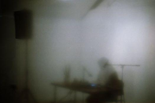 Vicky Langan performing at Luminous Void, Triskel Arts Centre  Photo by Rouzbeh Rashidi
