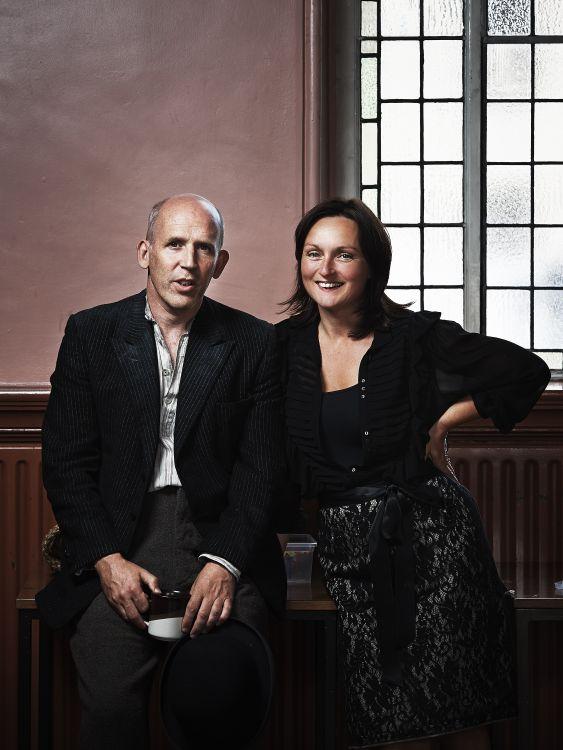Conor Lovett and Judy Hegarty Lovett, Gare St Lazare Ireland