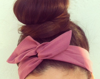 DOLLY BOW HEADBAND - FOUND ON ETSY