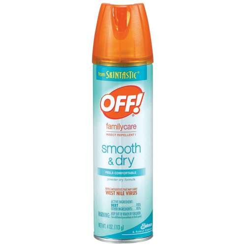 OFF BUG SPRAY SMOOTH AND DRY