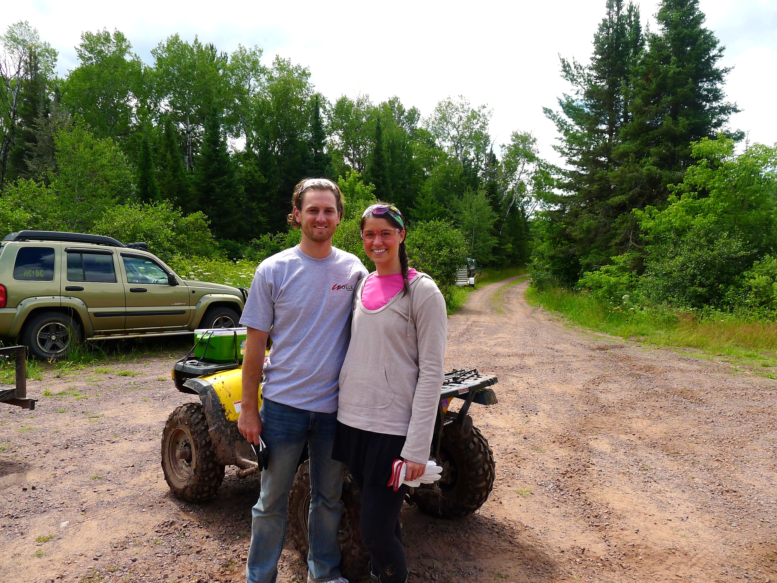 TRAIL RIDING THE PORCUPINE MOUNTAINS