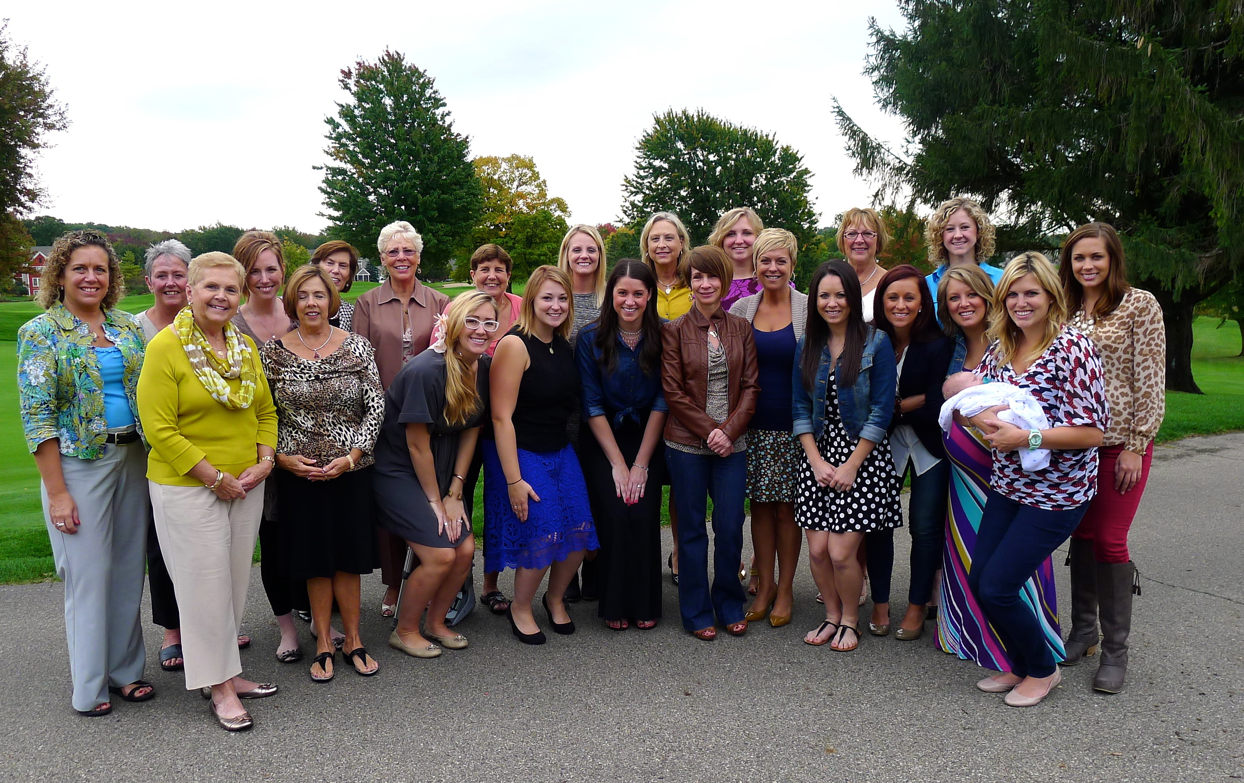 BRIDAL SHOWER HOSTED BY SUE VANTUINEN AND MARI KLADDER ON SATURDAY OCT. 5TH AT WATERMARK COUNTRY CLUB.