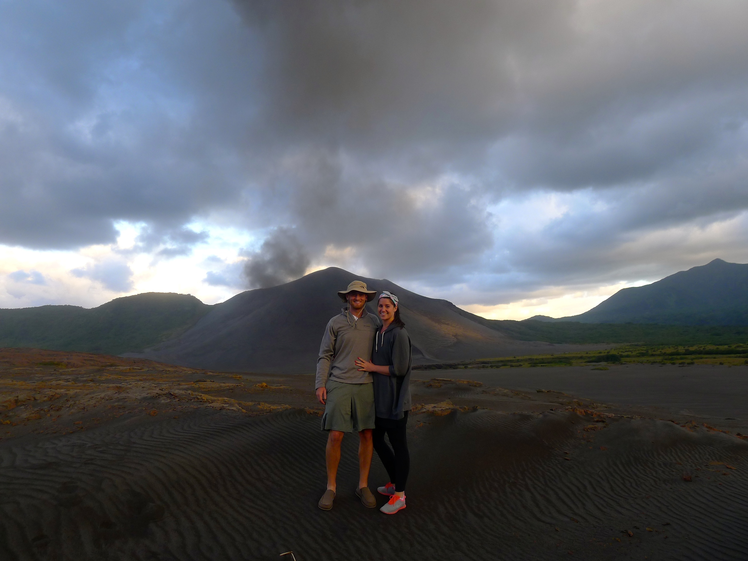 VANUATU TRIP 2013 - THIS VOLCANO JUST MADE THE TOP 10 LIST OF THE WORLDS MOST ACTIVE VOLCANOES