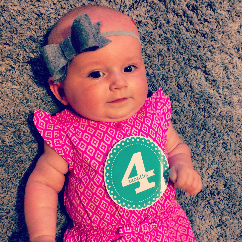 Miss Natalie, 4 months old.