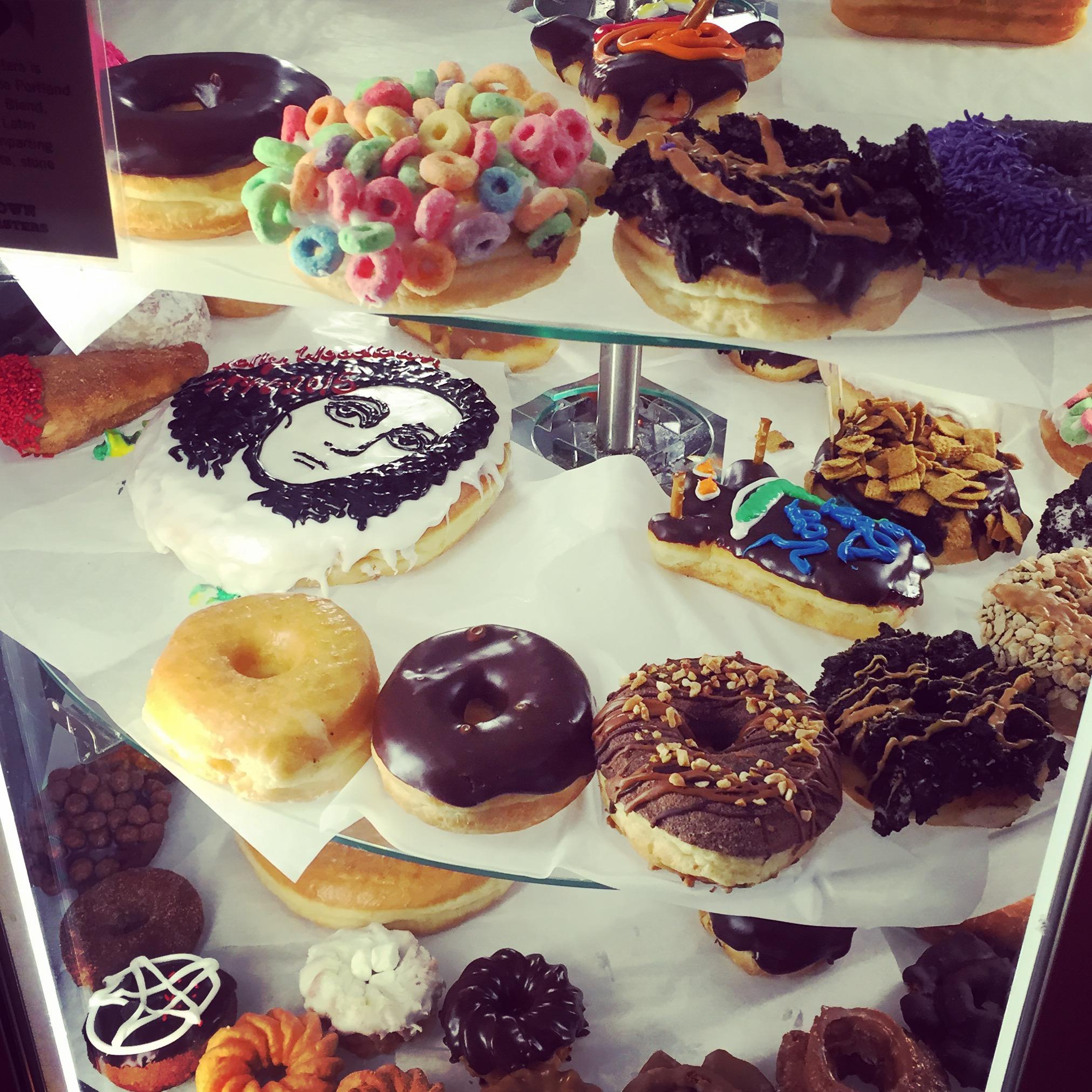VooDoo Doughnuts in Portland, Oregon.