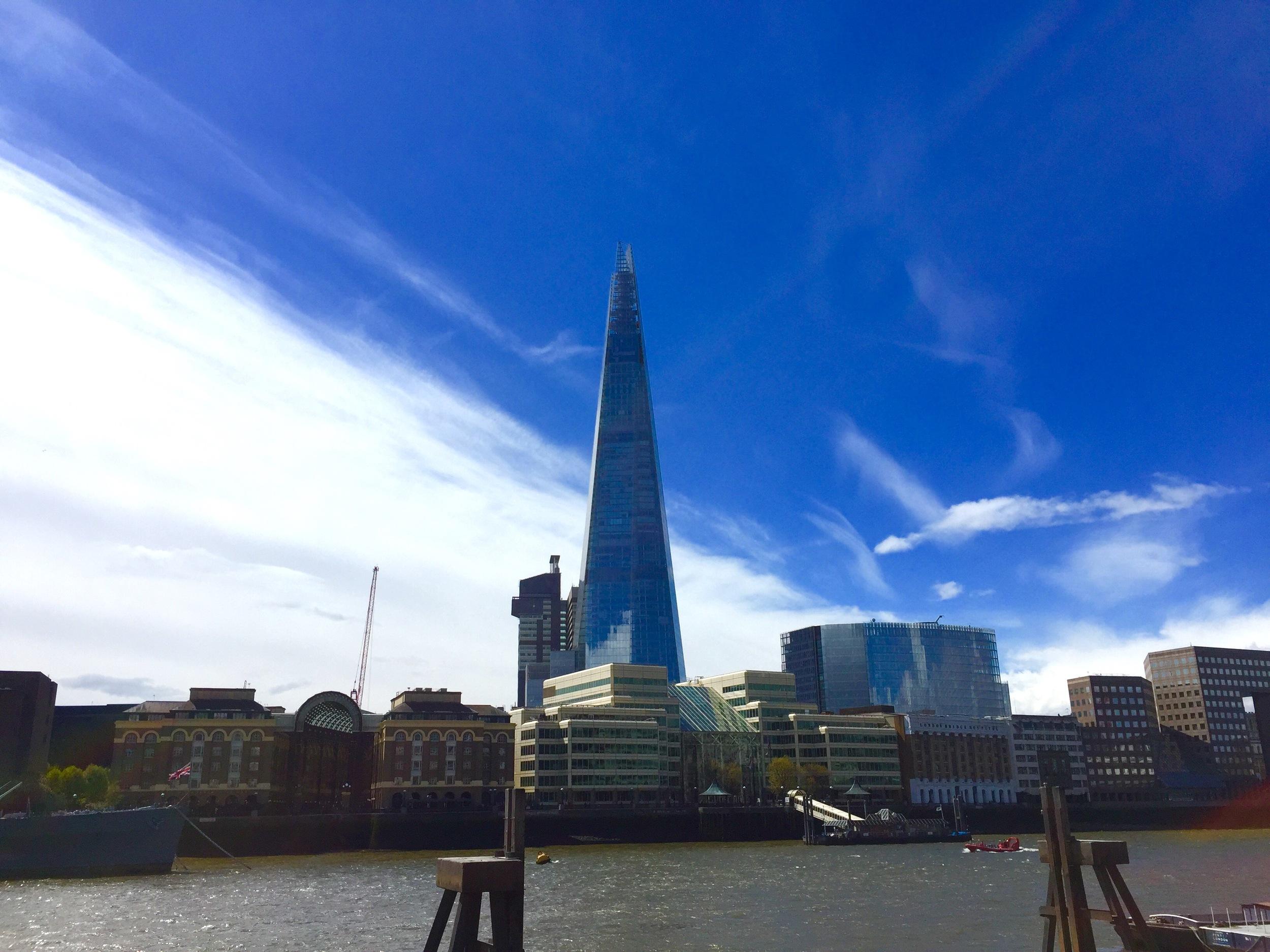 The Shard in London.