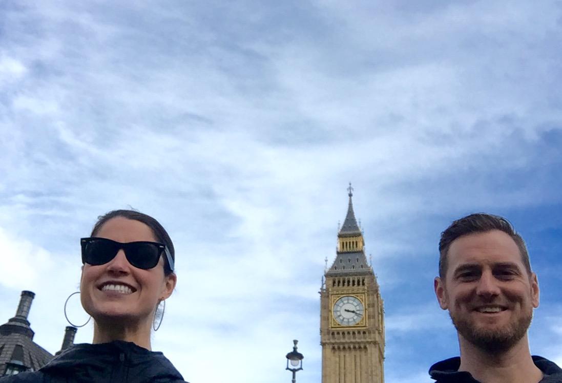 Big Ben! In London, England.