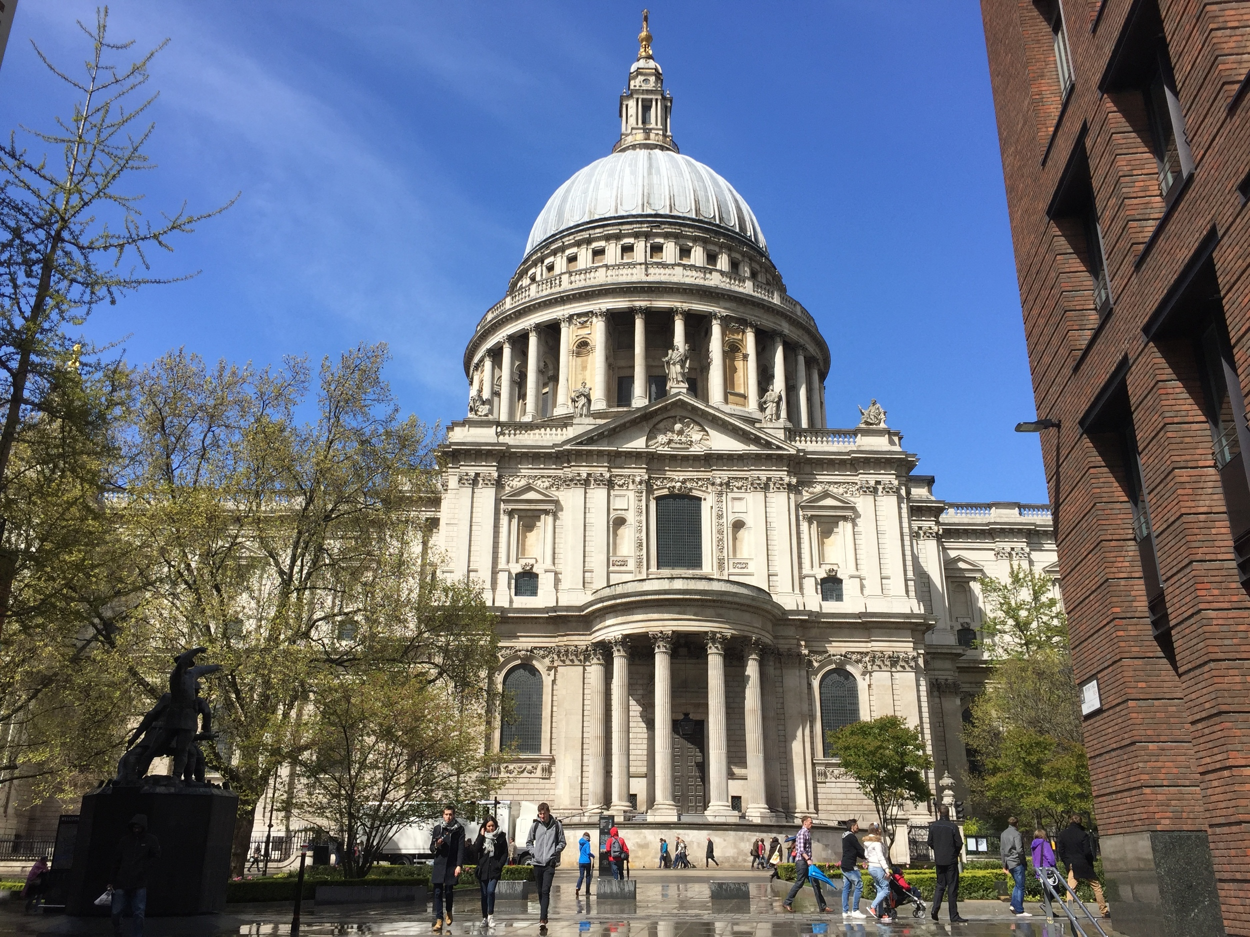 St. Paul's Cathedral in London, England.