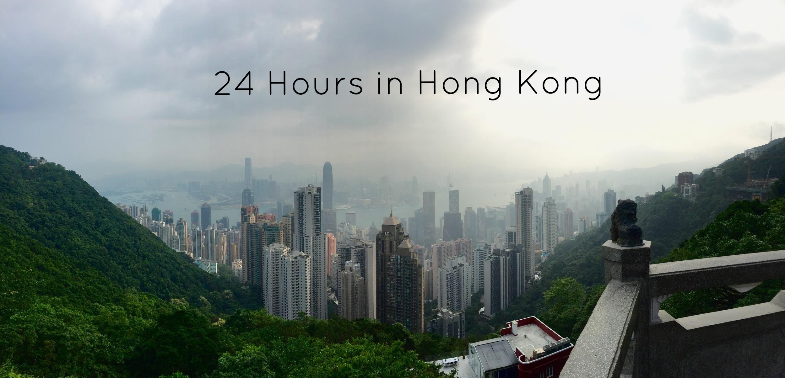 Victoria's Peak in Hong Kong.