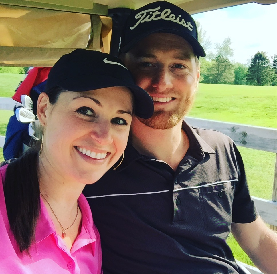 The couple that golfs together stays together! At our couple event last weekend at Watermark.