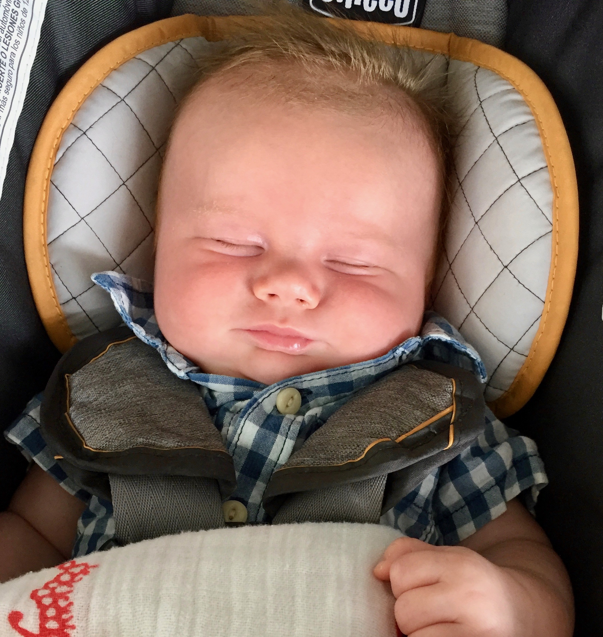 Thomas Christopher at 11 weeks old.