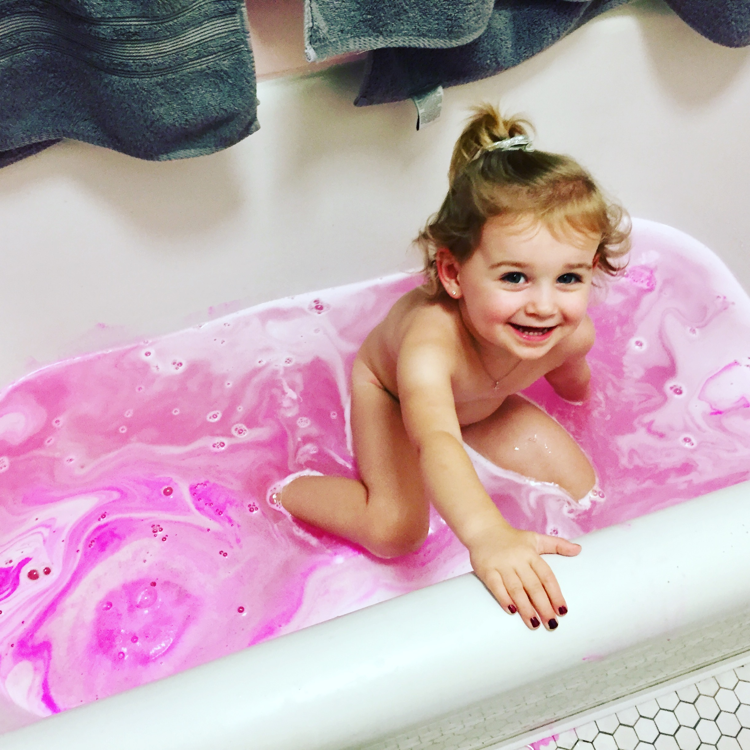 Bath bombs are the new bubbles!