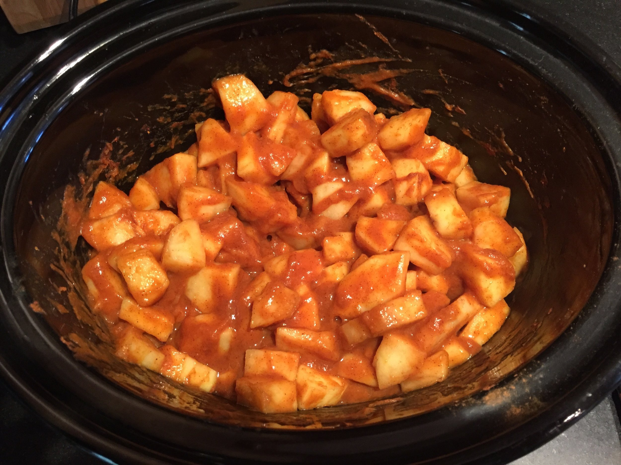 Pumpkin Apple Sauce in progress!