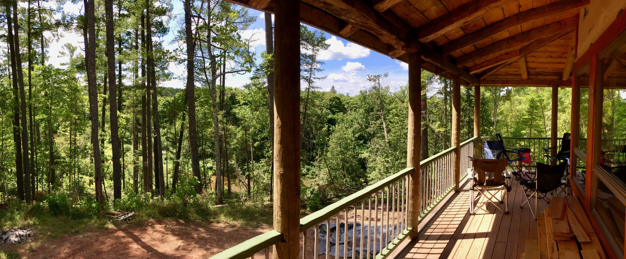 Camp Whiskey Hollow in Ontonagon, Michigan.