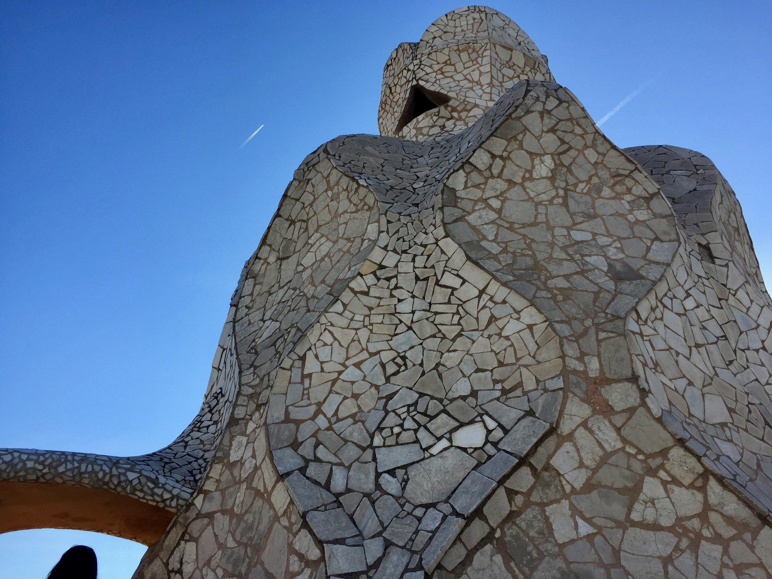 Barcelona Spain Gaudi rooftop.jpg