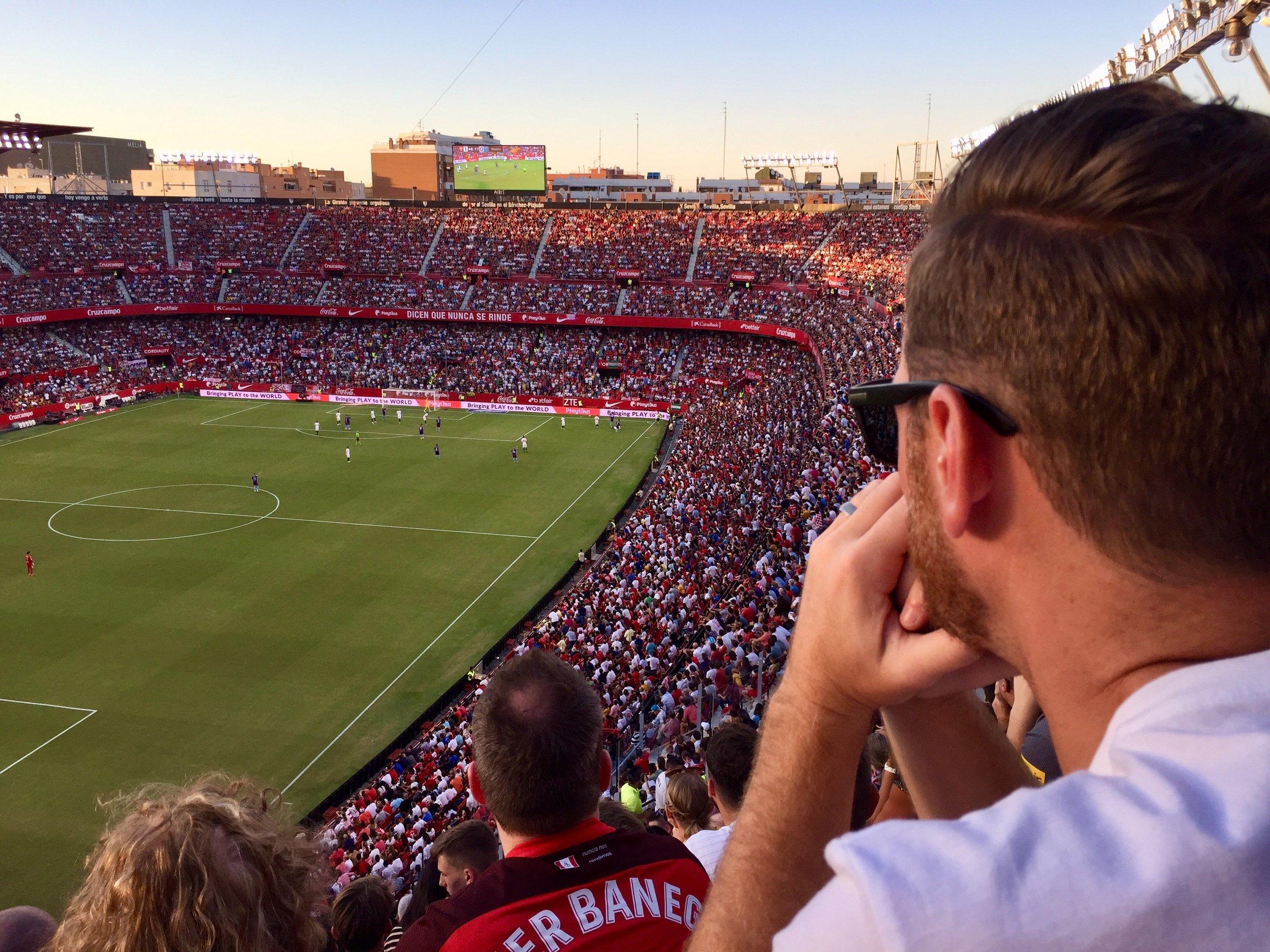 Sevilla spain futbol fan.jpg