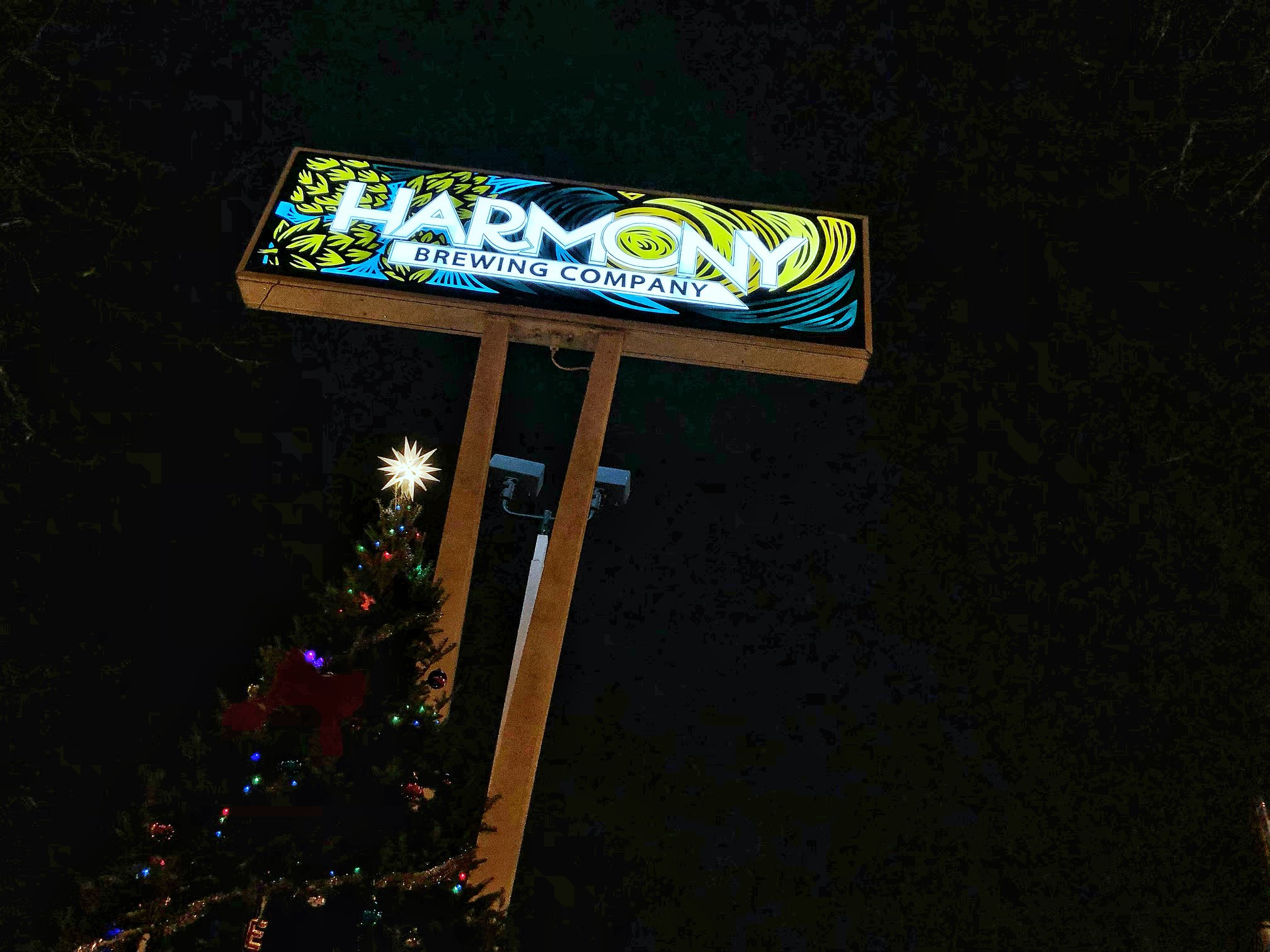 Eastown Tree LIghting Harmony Brewing.jpg