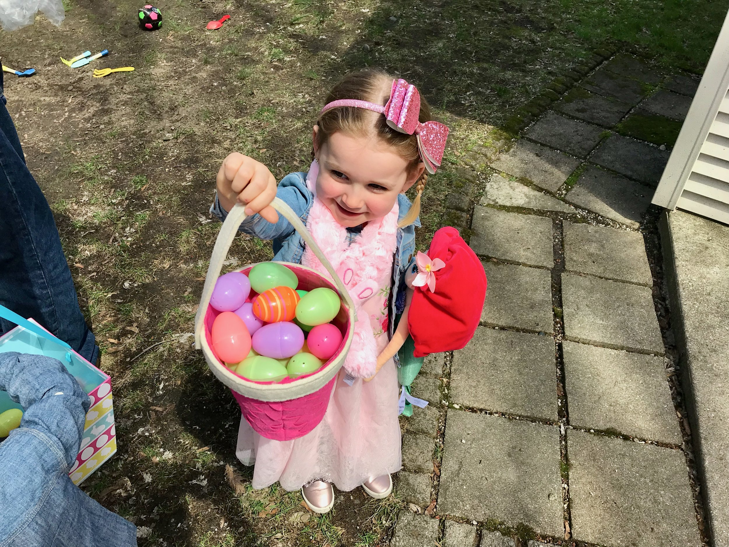 Natalie Easter Basket hunting.jpeg