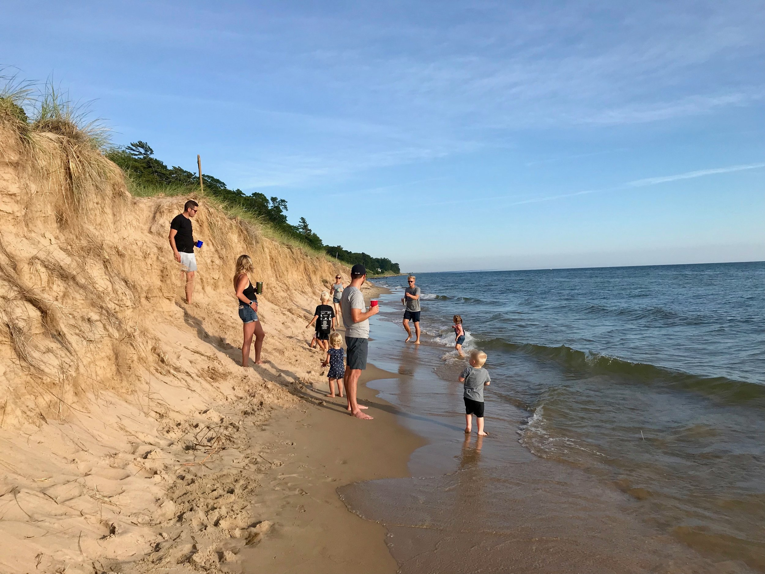lake michigan beach walk.jpeg