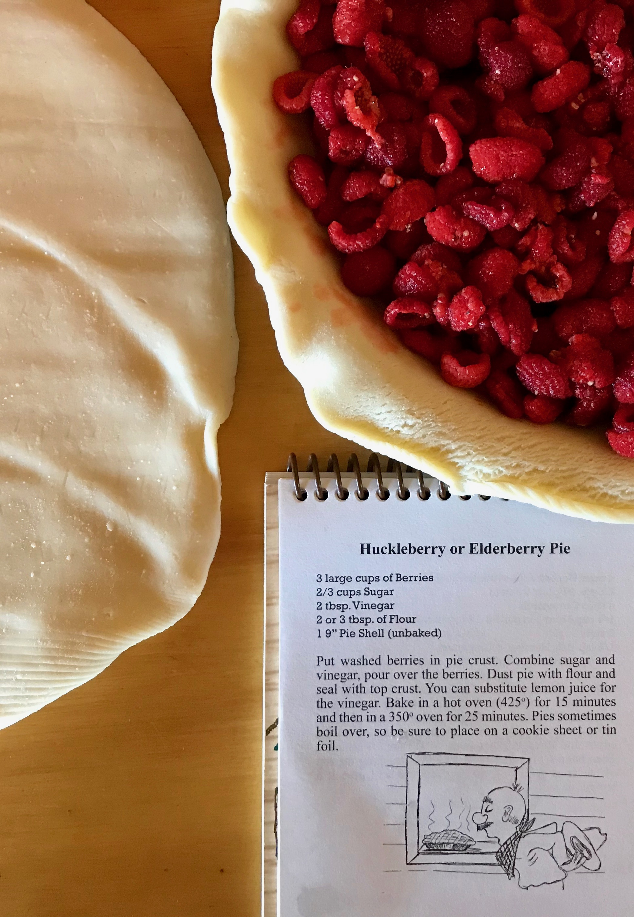 Thimbleberry pie making.jpeg