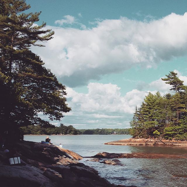 Seaborn Press travelled north for the weekend to escape the New York summer, because sometimes air conditioning isn't enough 🌲🌊😍